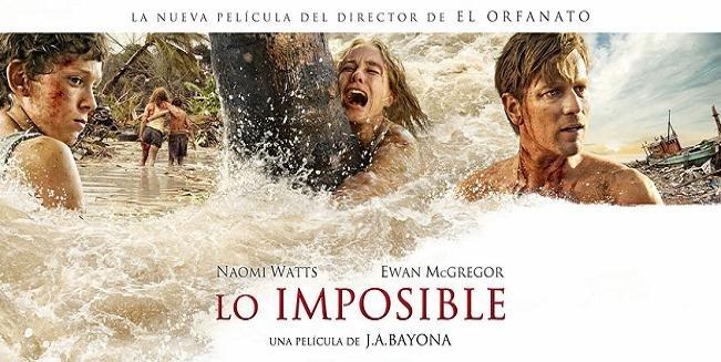 Imagen promocional de 'Lo imposible'
