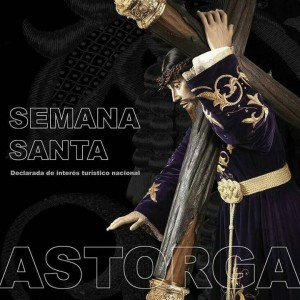 Cartel anunciador de la Semana Santa de Astorga 2015