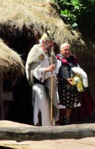 Astur and Roman reenactors