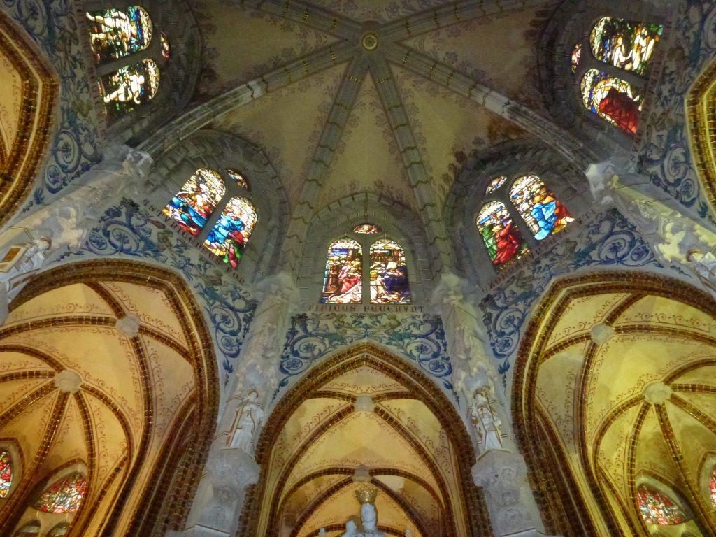 Intérieur du palais épiscopal de Gaudi, à Astorga (Espagne)