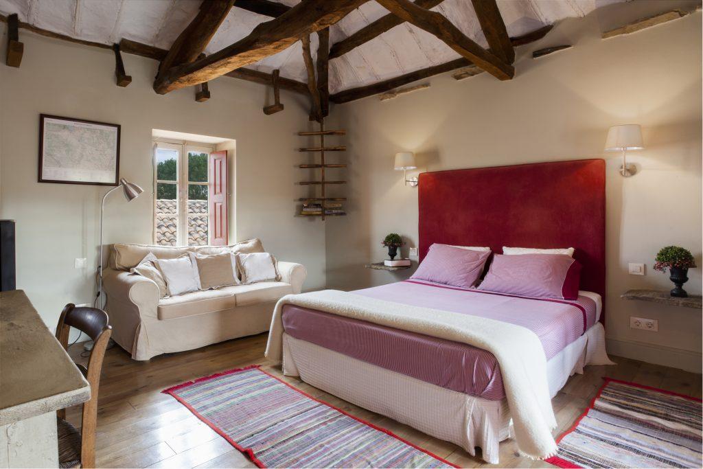 Una de las habitaciones del apartamento turístico La Madrigata