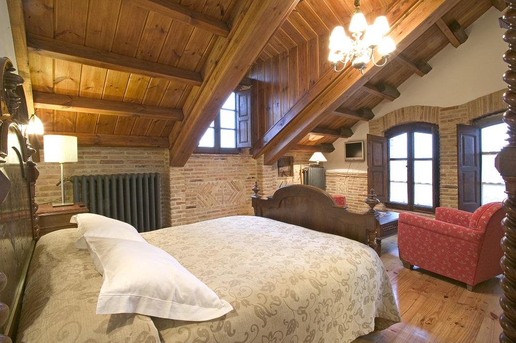 Habitación en la Posada Real Hostería Camino