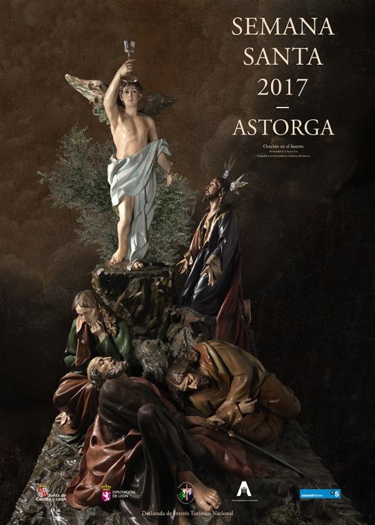 Imagen del programa de Semana Santa de Astorga 2017