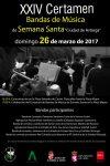 XXIV Certamen de bandas de música de Semana Santa Ciudad de Astorga 2017