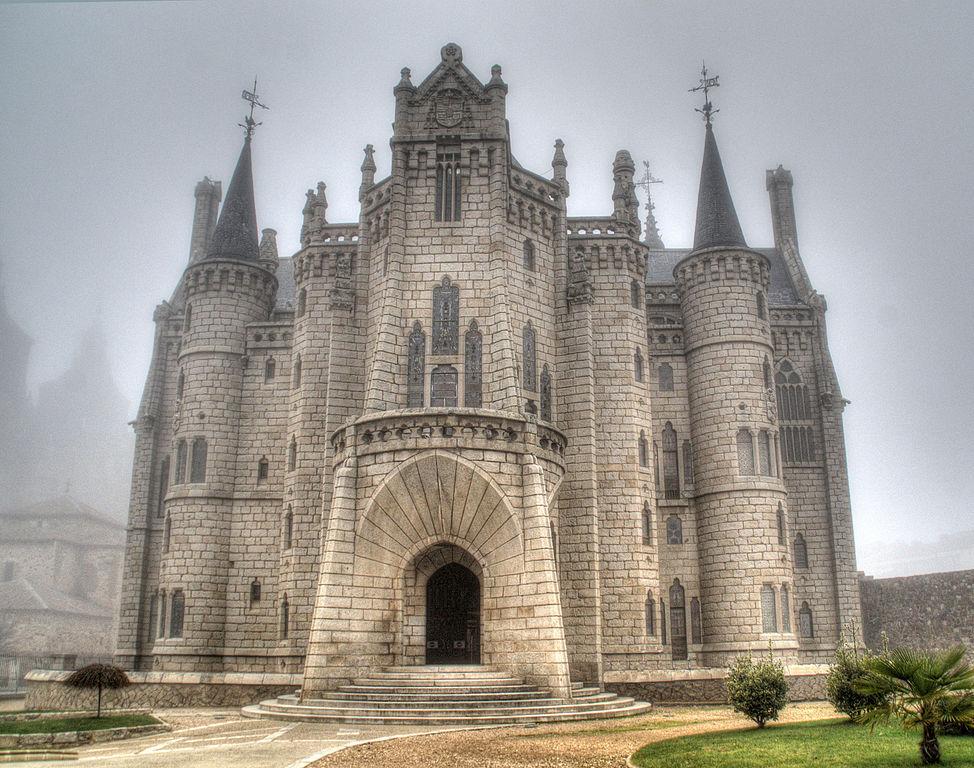 Palácio Episcopal de Astorga, projetado por Gaudi