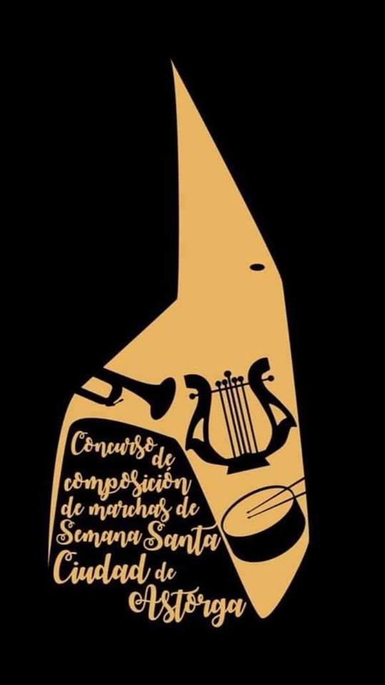 Cartel Concurso de Composición de Marchas de Semana Santa Astorga 2019