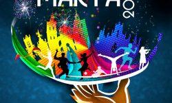 Cartel Fiestas de Santa Marta Astorga 2019, obra de César nüñez