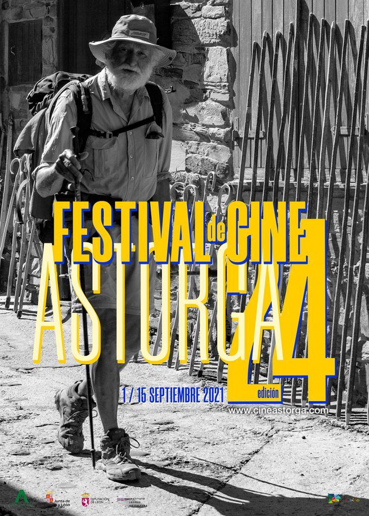 Cartel oficial del XXIV Festival de Cine de Astorga 2021